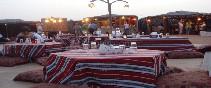 Campamento y Cena en el Desierto