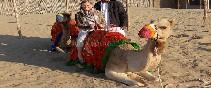 Subiando al camello