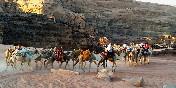 Paseo en camello. Jordania