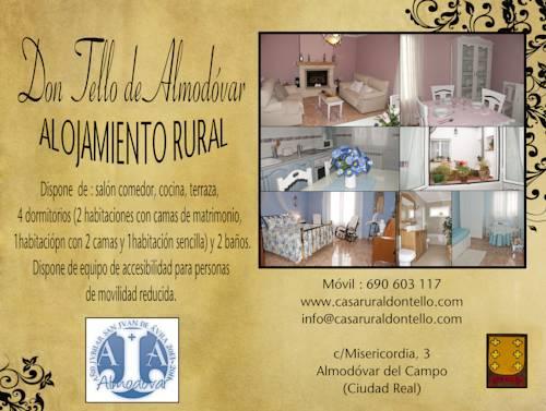 Alojamiento Rural Don Tello de Almodóvar
