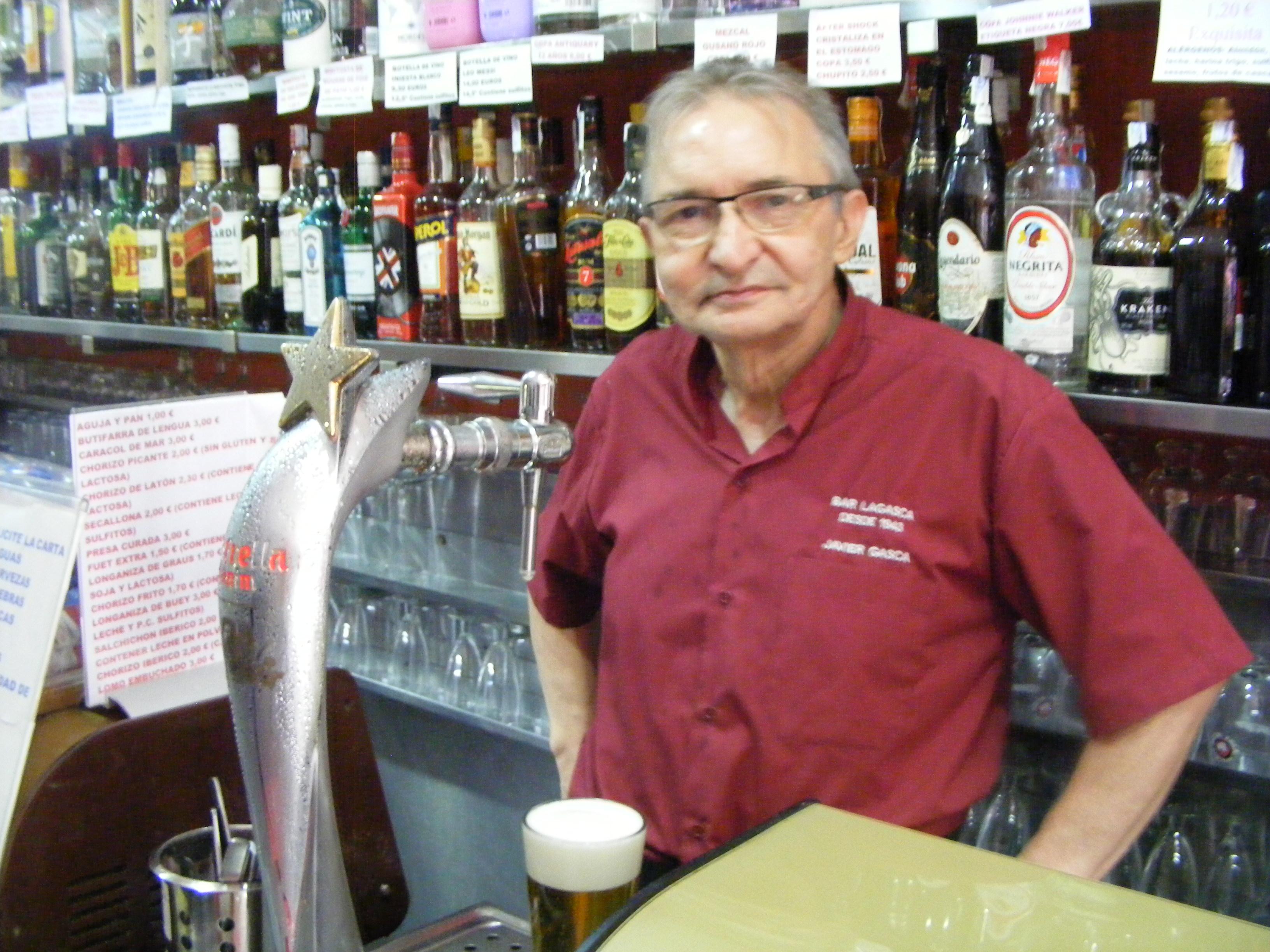 Imagen de Javier que es propietario de Bar La Gasca