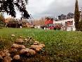 La villa en otoño