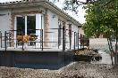 Terraza/porche de la casa