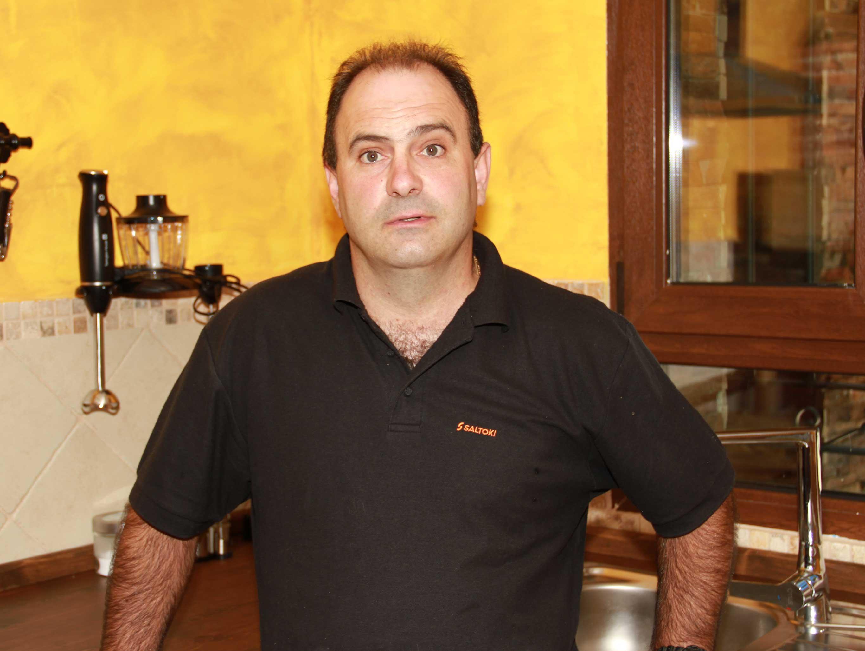 Imagen de Francisco Martos,                                         propietario de La Senderuela