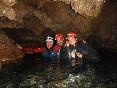 foto en cueva acuatica