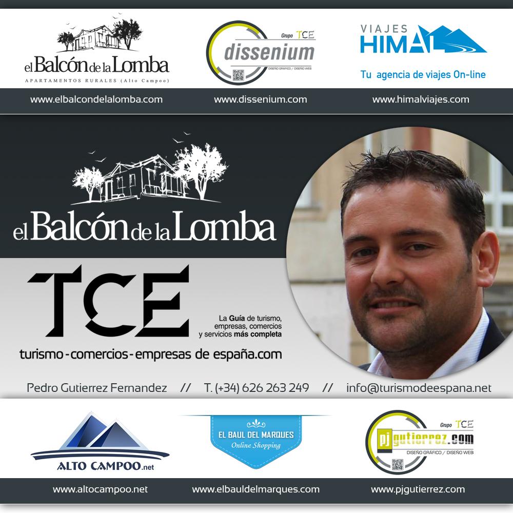 Imagen de Pedro Gutierrez,                                         propietario de El Balcón de la Lomba