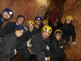 Espeleología en cueva Baja