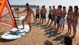 Clases de windsurf tarragona