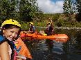 Familia kayak rio Sil