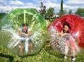 Bubble soccer diversión
