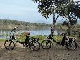 En bici por Alcollarin