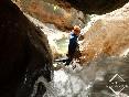 Barranquismo sierra de guara edgar sanchez canyoning guide guia de barrancos_