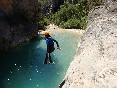 Barranquismo sierra de guara edgar sanchez canyoning guide guia-de-barrancos