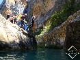 Barranquismo sierra de guara edgar sanchez-canyoning guide guia de barrancos