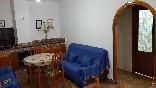 Casa san antonio salón con chimenea