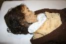 Museo-de-quinto-momia-mujer-cabello-castaño