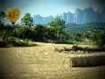 Globus-kontiki-bages-barcelona-paisaje