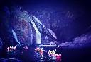 Visita nocturna en kayak a las cascadas