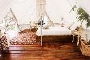 Glamping interior y decoración