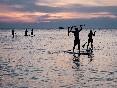 Paddle surf Islares